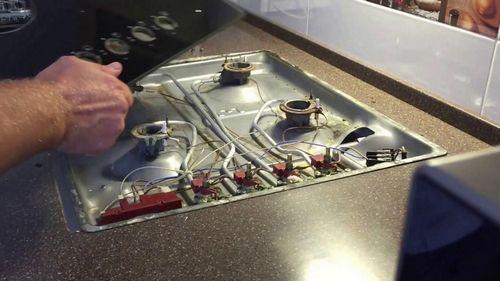 Плиты газовые горение ремонт