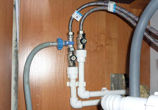 как подключить стиральную машинку к водопроводу