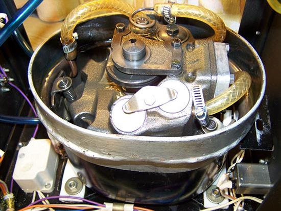 Внутренняя обмотка электромотора